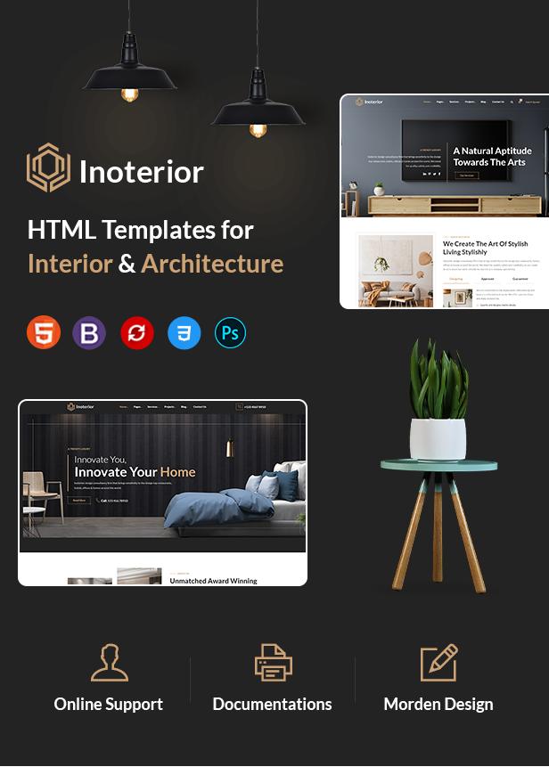 Architecture & Interior HTML Template