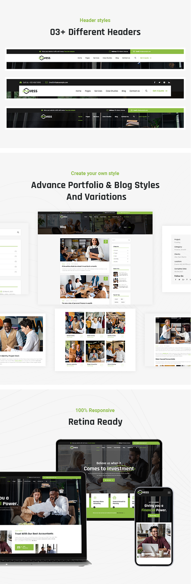 Accounting & Finance Consulting HTML Template